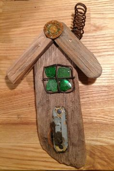Driftwood and seaglass