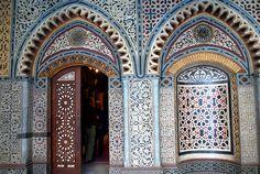 mosaics coptic church doors, Cairo Egypt
