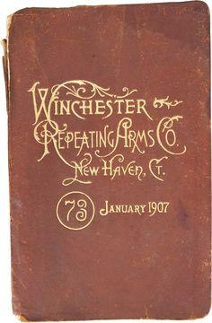vintage Winchester : 1907