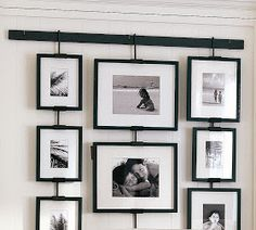 Pottery Barn's picture frames bring stylish solutions to any space. Find picture frames in wood, silver and brass finishes and create a personalized gallery wall. Hanging Picture Frames, Collage Picture Frames, Picture Hangers, Hanging Pictures, Picture Wall, Frames On Wall, Family Collage, Ikea Frames, Box Frames