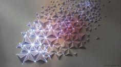 Joanie Lemercier : Origami en 3D et Video Mapping Artistique