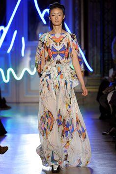 Fall 2012 RTW, Designer: Tsumori Chisato, Model: Lili Ji
