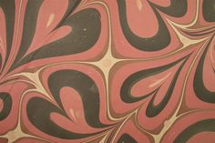 Example of Marbled Paper From University of Texas students of book art.