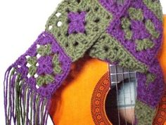 CLEARANCE Granny Square Crochet Scarf | review | Kaboodle