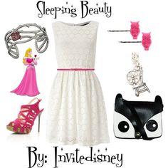 """Sleeping Beauty: Same dress Challenge"" by invitedisney on Polyvore"