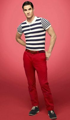 Darren Criss as Blaine Anderson in Glee
