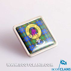 Strange Clan Crest Pin Badge