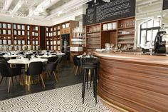 Lazare restaurant Paris Gare st Lazare I Chef Eric Frechon *** Michelin guide