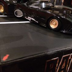 Penguin's View of the 1989 Batmobile by Martin's Models.