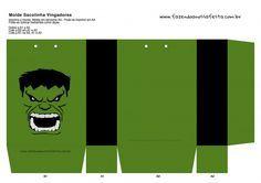 Sacolinha Lembrancinha Super-Heróis Incrível Hulk