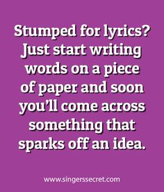 Must try this next time I'm stumped but want to write! Might be a good starting place!