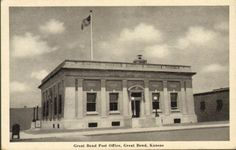 Great Bend Post Office, Great Bend, Kansas. Great Bend is a city and the county seat of Barton County, Kansas, United States. It was named for its location at the historic big bend of the Arkansas River.
