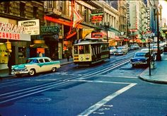 vintage everyday: Beautiful Color Photographs of Street Scenes of the USA in the 1950s and 1960s