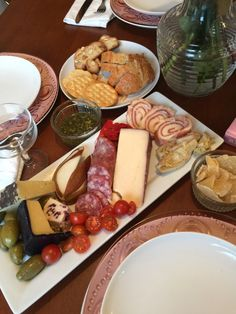 Basics of a Cheese Plate