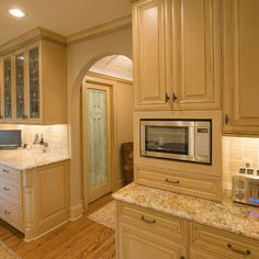 Built In Microwave Design, Pictures, Remodel, Decor and Ideas - page 2