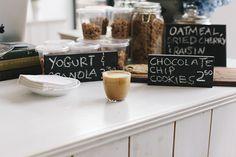 Crosby Coffee signage