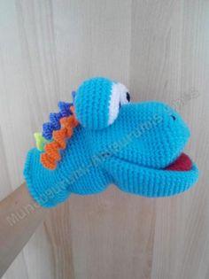 marioneta amigurumi  mostruito  lana amigurumi