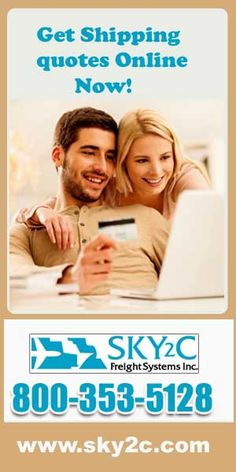 If you are looking for shipping you loving furniture call to Sky2c  Freight systems INC and get quotes of cheap shipping or log on to www.sky2.com