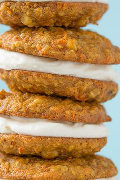 Carrot Cake Cookies! Recipe by cookingclassy.com