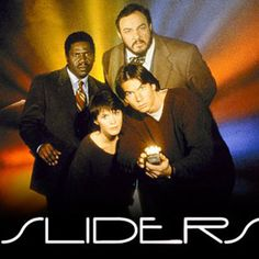 I totally used to watch that show! Sliders TV Show Battlestar Galactica, Sliders Tv Show, Sabrina Lloyd, Photo Slider, Jerry O'connell, Fox Tv, Great Tv Shows, Tv Episodes, Classic Tv
