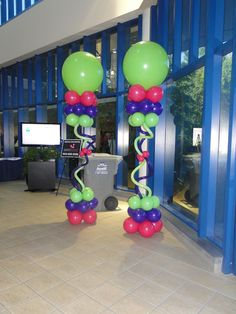 Floating Balloon Column