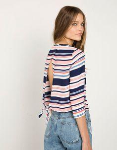 Shirt Bershka met knoopdetails - Overhemden & blouses - Bershka Netherlands