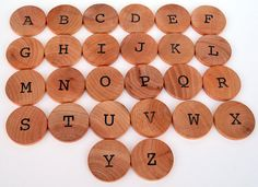 Montessori Alphabet - Educational Toy - Uppercase Letters