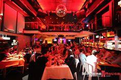 La sala - Mmm! Cabaret by Despedidas Première. Restaurante temático especial para despedidas de solter@s. www.mmmcabaret