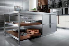 Cucine in acciaio componibili: prezzi, modelli e novità per il 2015 | Design Mag