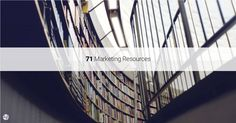 71 Digital Marketing Resources on #Growth, Retention, Optimization and #Analytics http://growthhackers.com/articles/71-digital-marketing-resources-on-growth-retention-optimization-and-analytics?utm_source=Twitter&utm_medium=GrowthHackers&utm_campaign=703 …