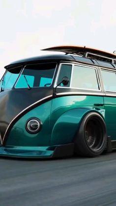 Custom Muscle Cars, Custom Cars, Cool Trucks, Cool Cars, Vw Wagon, Street Racing Cars, Classy Cars, Car Mods, Vw Cars