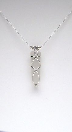 Sea Glass Jewelry Sterling Caged White Sea Glass by SignetureLine, $65.00: