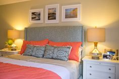 Savvy Giving by Design, master bedroom.