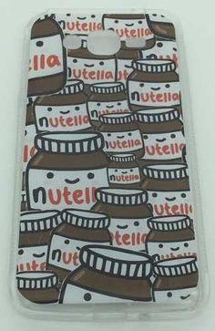 capinha case capa galaxy gran duos prime nutella love