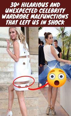 #Hilarious#Unexpected #Celebrity #Wardrobe #Malfunctions #Shock