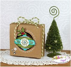 Stampin Up Christmas Dauble Box