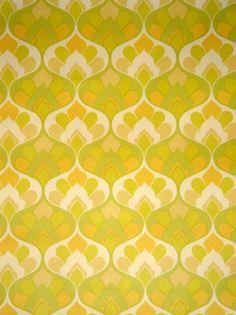 vintage pattern wallpaper