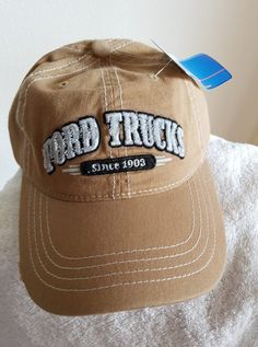 New Ford 1903 Blue Gray Embroidered Classic Men/'s Cap Hat