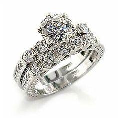 Size 7 Wedding Clear Cubic Zirconia Brass Rhodium Ring StealStreet. $16.99