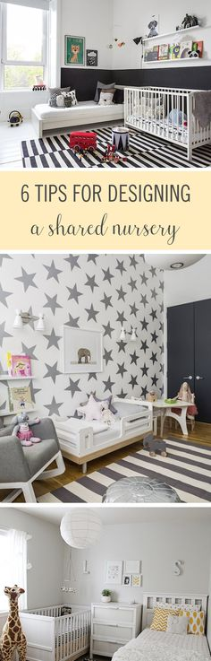 Sticking two kids in one room can be tricky. There will definitely be fights and tantrums — and that's just about the decorating side of things. Creating a space that both kids would enjoy and that fits their style may seem impossible, but it can be done. Here are some gorgeous shared nurseries and design ideas that will help you do just that. #HomeDecor