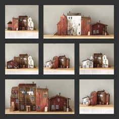 Driftwood Sculpture, Driftwood Art, Scrap Wood Crafts, Wooden Houses, Timber House, Home Art, Liquor Cabinet, Storage, Holiday Decor
