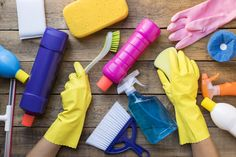 We're loving all things spring this year! Especially spring-cleaning hacks. Help keep your homes clean this season with our spring-cleaning tips! Homemade Cleaning Products, House Cleaning Tips, Deep Cleaning, Spring Cleaning, Cleaning Hacks, Cleaning Supplies, Grand Menage, Boating Tips, Ard Buffet