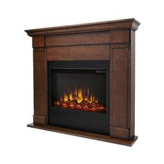 Real Flame Lowry Slim Electric Decorative Fireplace (€310) ❤ liked on Polyvore featuring home, home decor, fireplace accessories, fireplace, vintage black, real flame electric fireplace, black electric fireplace, electric fireplace accessories and black home decor