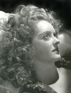 Bette Davis 1939   This photo was amazing up close.