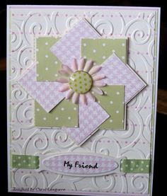 Our Little Inspirations: Pinwheel Card
