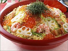 ハレの日の心に残る家庭料理 ちらし寿司
