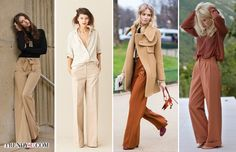 Рассказывая о модных тенденциях осени и зимы 2016-2017, мы писали, что оверсайз уверенно держит позиции. Это значит, что в моде широкие брюки. Как их носить?