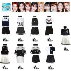 2TWICE Chaeyoung & Tzuyu & Momo & Jihyo & Sana & Nayeon & Jungyeon & Dahyun & Mina