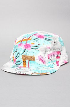 Mishka The Maui Wowie 5Panel Cap in White #Karmaloop