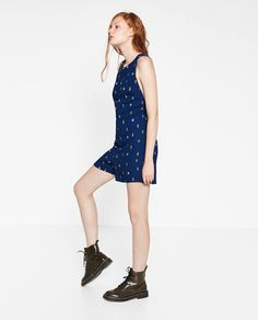 Image 6 of SHORT JUMPSUIT WITH OPEN BACK from Zara